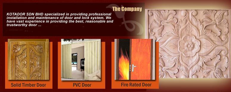 Kotador Sdn Bhd - Solid Timber Door Malaysia | PVC Door Malaysia ...